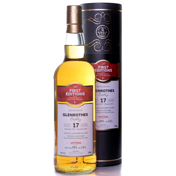 The First Editions Glenrothes 17 yr